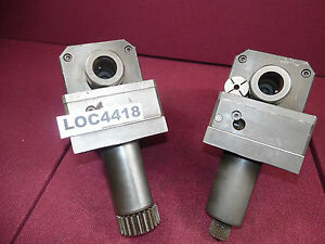Lot Of 2 Vdi 50 Live Tooling Tool Holding Taping Heads Loc4418