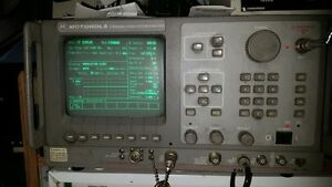 Motorola R 2550a Communications System Analyzer