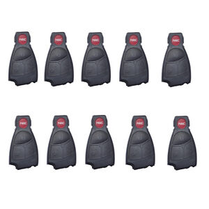 10 X Remote Key Shell Replace Fit For Mercedes Benz Cl65 Amg Ml500 C230 4bts