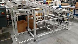 Nutek Ntm430l2500 Solder Outfeed Conveyor L Size 2500mm 1 Zone Wave Solder
