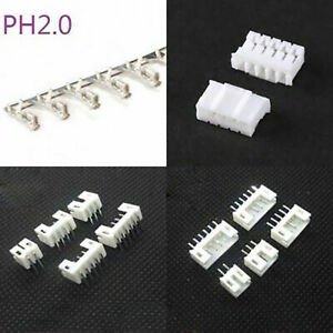 Ph2 0mm Straight right Angle Male Pin Header Housing Terminal Connector 2p 14p