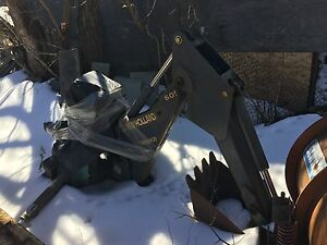 New Holland Bradco 609 Backhoe Loader Attachment Excellent Condition