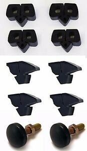 New 1965 1966 Ford Mustang Door Hood Bumper Kit Set Of 10 Free Shipping