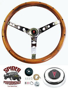 1964 1966 Gto Steering Wheel 15 Classic Walnut Grant