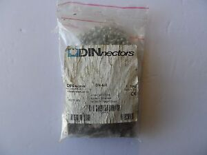 Dinnectors Dn 4j8 4 pole Jumpers And Screws Bag Of 100