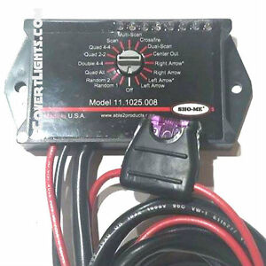 New Sho me Led Micro rotary Switch With Built in Led Flasher 8 Outputs