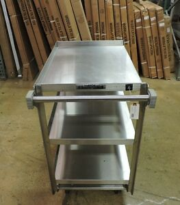 Lakeside 722 Commercial Heavy Duty Stainless Steel Utility Cart