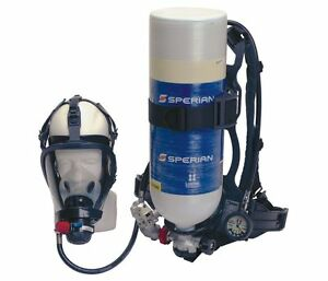 Survivair 483121 Inds Scba Carbon Full Facepiece 30 Min
