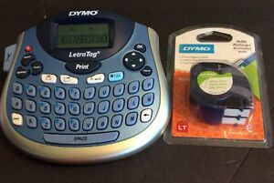 Dymo Letratag Label Maker And Refills Used