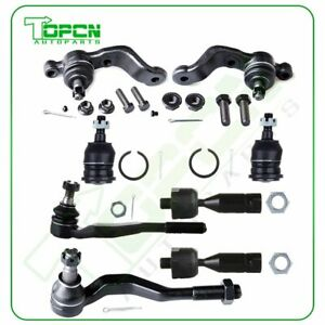 For 95 04 Toyota Tacoma Rwd Suspension 8x Front Ball Joints Tie Rod Links Kit