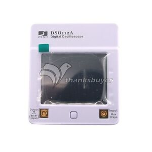 Dso112a Touch Screen 2 4 Tft Mini Digital Oscilloscope Pocket Osc 2mhz 2 5msps
