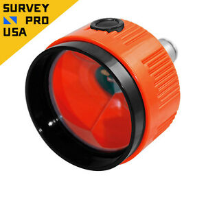 New 62mm Single Flashing Strobe Prism Total Station