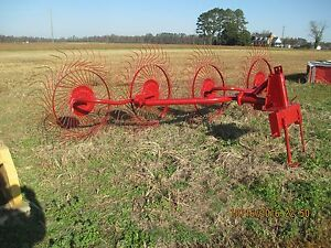 Sitrex 4 Wheel Hay Rake With 3 point Hook up