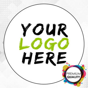 Logo Printed Round Stickers Custom Logo Labels Postage Labels personalised