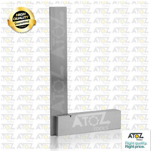 24 Steel Try Square Precision Right Angle Measure Marking Workshop Tool