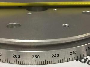 5 1 2 Huber Goniometer Micrometer Rotation Disk For Calibration And Fine Tuning