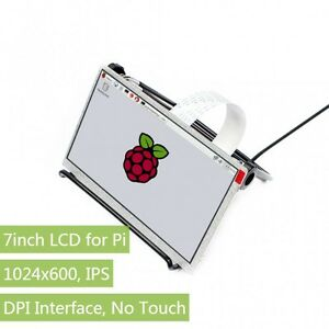 1024x600 7inch Ips Screen Display For Raspberry Pi Dpi 40pin Gpio No Touch