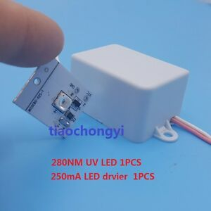 280nm 100ma Uv Purple Led Diode low Wavelength Ultra Violet Uv Led Driver