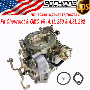 Carburetor Rochester For Chevrolet Gmc L6 250 292 Thermostat 1 Bbl Engines