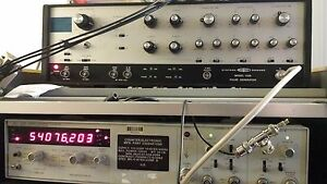 Vintage Sd Systron Donner 110d Analog Pulse Signal Generator Unit 50 Mhz Dual