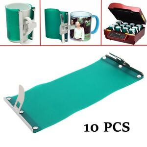 3d Sublimation Silicon Mug Clamp Wrap 11oz Cup Clamp Fixture Heat Press Printing