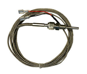 Temp Thermocouple K Type Stainless Steel Probe 12 Ft 3 66m Teflon Sealed