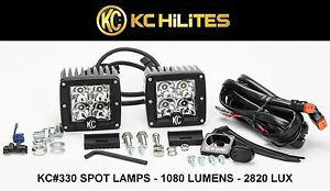 Kc Hilights C Series Cree C3 Led Spot Beam 1080 Lumens 2820 Lux Off Road Lights