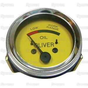 Oliver Tractor Oil Pressure Gauge 440 660 44 55 66 77 88 Incl Super 1ha344a
