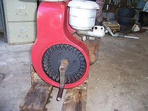 Stationary Wisconsin Engine