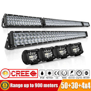 20inch 2row Led Work Light Bar Combo Suv Ute Atv Offroad Jeep Truck Ford 22 21