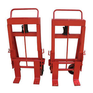 Machinery Mover Hand Truck 10 000 Lb Steel Number Of Rollers 4 13v420