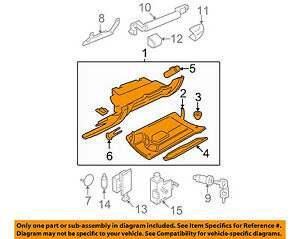 Vw Volkswagen Oem 06 10 Beetle Glove Compartment Box Assy 1c1880247t3sg
