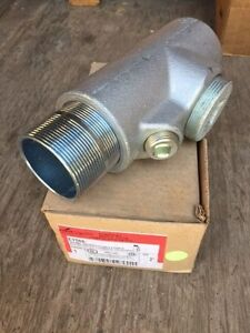 Cooper Crouse Hinds Eys66 2 Explosion Proof Sealing Fitting Vertical horizontal