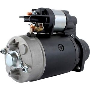 New Ford New Holland Tractor Starter Shibaura Diesel Cl45 Cl55 1900 1910 2110