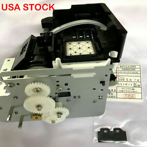 Mutoh Pump Capping Assembly Station Solvent Resistant For Vj 1604e Vj 1624 1614