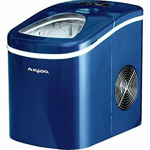 Igloo Compact Portable Ice Maker Blue Ice108 blue Capable Of Producing 26 L