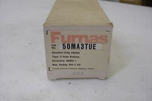 New Furnas 50ma3tue Push Button Station