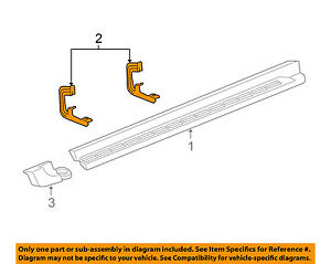 Gm Oem running Board Step Bracket 22956467