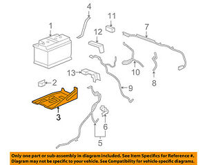 Gm Oem Battery Tray 25826079