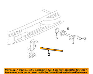Gm Oem Spare Tire Carrier guide 15078834