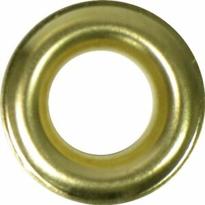 4 1 2 Brass Self piercing Grommets Washers 500 Pcs Set Per Bag