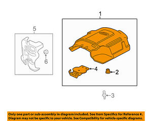 Gm Oem Engine Appearance Cover engine Cover 12625893