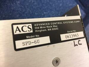 Acs Step pak Spd 6u Uni polar Stepping Motor Driver Module Advanced Control Sys