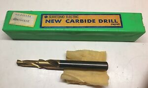 Sumitomo Electric Carbide Drill Mdld 02134 Wdw085s3e New In Case