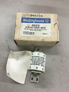 New In Box Westinghouse Current Limiter Fuse 400lap10 Style 5680d75g04