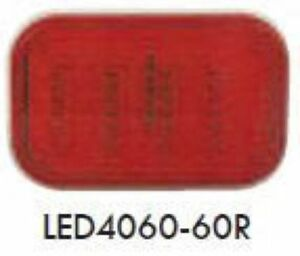 Red 4 X 6 Led Stop tail turn Lights 1 Per Pack