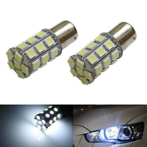 2x5050 White 27smd Led Bulbs 1156 1141 1003 Rv Camper Trailer Interior Light 12v