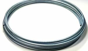 Roll Of 25 Ft Zinc Plated 3 16 Brake Line Tubing