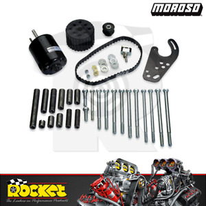 Moroso Electric Water Pump Drive Kit Fits Chev Fits Ford For Chrys Mo63750