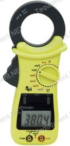 Tpi 291 Clamp on Meter